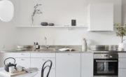 Unum kök och diskbänk liggande